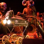 Dr. Odd live on stage with his horror rock band: Rosemary's Billygoat