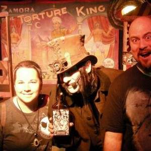Dr. Odd with fans after show at Knott's Scary farm