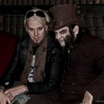 Dr Odd on set with John 5