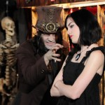 Dr Odd with Vanna Black on Coffin TV